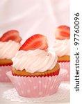 Delicious Vanilla Cupcake With...
