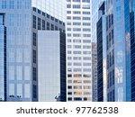 business district of a modern... | Shutterstock . vector #97762538