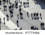 frankfurt  germany march 03 ... | Shutterstock . vector #97775486