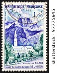 france   circa 1960  a stamp... | Shutterstock . vector #97775645