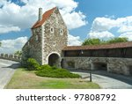 medieval fortress in royal... | Shutterstock . vector #97808792