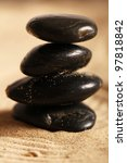 zen stones on the sand | Shutterstock . vector #97818842