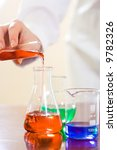 analyzing process in laboratory ... | Shutterstock . vector #9782326