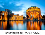 palace of fine arts museum at...   Shutterstock . vector #97847222