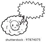 cartoon death cloud   Shutterstock . vector #97874075