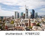 City Frankfurt Skyline