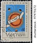 vietnam   circa 1979  a stamp... | Shutterstock . vector #97975172
