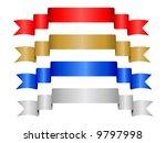 four decorative color ribbon... | Shutterstock .eps vector #9797998