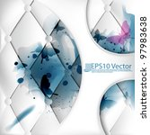 eps10 abstract vector... | Shutterstock .eps vector #97983638