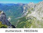 thett valley. prokletije... | Shutterstock . vector #98020646