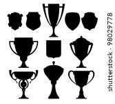 Black Champion Cup And Coat Of...