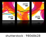 abstract vector background | Shutterstock .eps vector #98068628