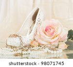 The Beautiful Bridal Rose With...