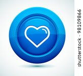 Professional Glossy Heart Icon...