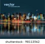city landscape | Shutterstock .eps vector #98113562