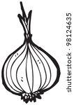 onion cartoon | Shutterstock . vector #98124635