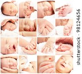 New Born Baby Composition