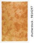 photograph of textured piece of ... | Shutterstock . vector #9814297