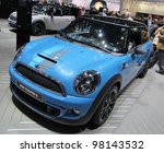 geneva   march 16   blue mini... | Shutterstock . vector #98143532