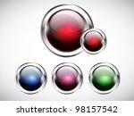 glossy modern web button. web... | Shutterstock .eps vector #98157542