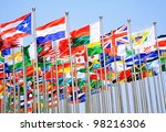 the uk france switzerland and... | Shutterstock . vector #98216306