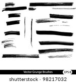 vector brushes set