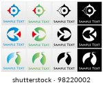 vector marks related to... | Shutterstock .eps vector #98220002