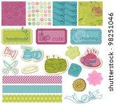 scrapbook design elements  ... | Shutterstock .eps vector #98251046