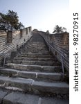 stairs leading up to the top of ...   Shutterstock . vector #98270915