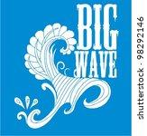 big waves | Shutterstock .eps vector #98292146