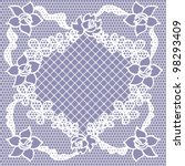 lace seamless pattern with... | Shutterstock .eps vector #98293409