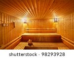 Wood Sauna Room