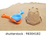 A Sandcastle On The Sand And...