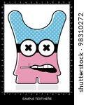 monster   Shutterstock .eps vector #98310272