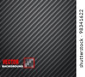 Carbon Fiber texture background vector illustration.