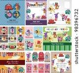 circus card | Shutterstock .eps vector #98396732