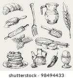 kitchen | Shutterstock .eps vector #98494433
