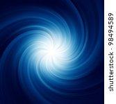 Blue Twirl Background. Eps 8...