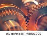 abstract gears | Shutterstock . vector #98501702
