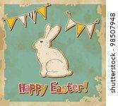 Vintage Easter Greeting Card...