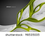 abstract spring background with ...