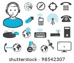 wireless connection technologies   Shutterstock .eps vector #98542307