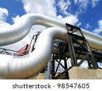 industrial zone  steel...   Shutterstock . vector #98547605