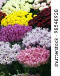 street flower market. different ... | Shutterstock . vector #98548928