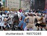 kaliningrad   january 8 ... | Shutterstock . vector #98570285