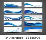 vector illustration of banners...