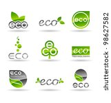 ecology icon set  number 4 .... | Shutterstock .eps vector #98627582