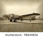 Old Ww2 Era Bomber Preparing...