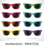 Sunglasses Set  Wayfarer Shape...