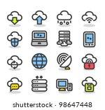simple series   internet... | Shutterstock .eps vector #98647448